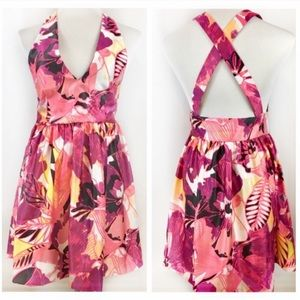 NWT Romeo & Juliet Couture Pink Backless Dress